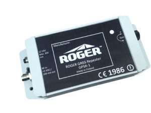 GPS repeater in waterproof (IP67) enclosure