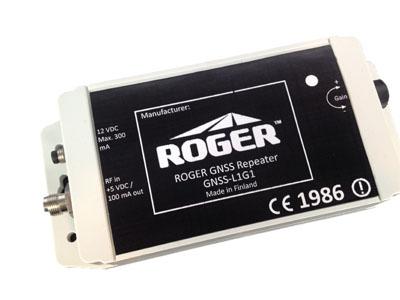 GNSS-L1G1GA-IP67: Roger-GPS Ltd repeater for L1, GLONASS, Galileo, Beidou