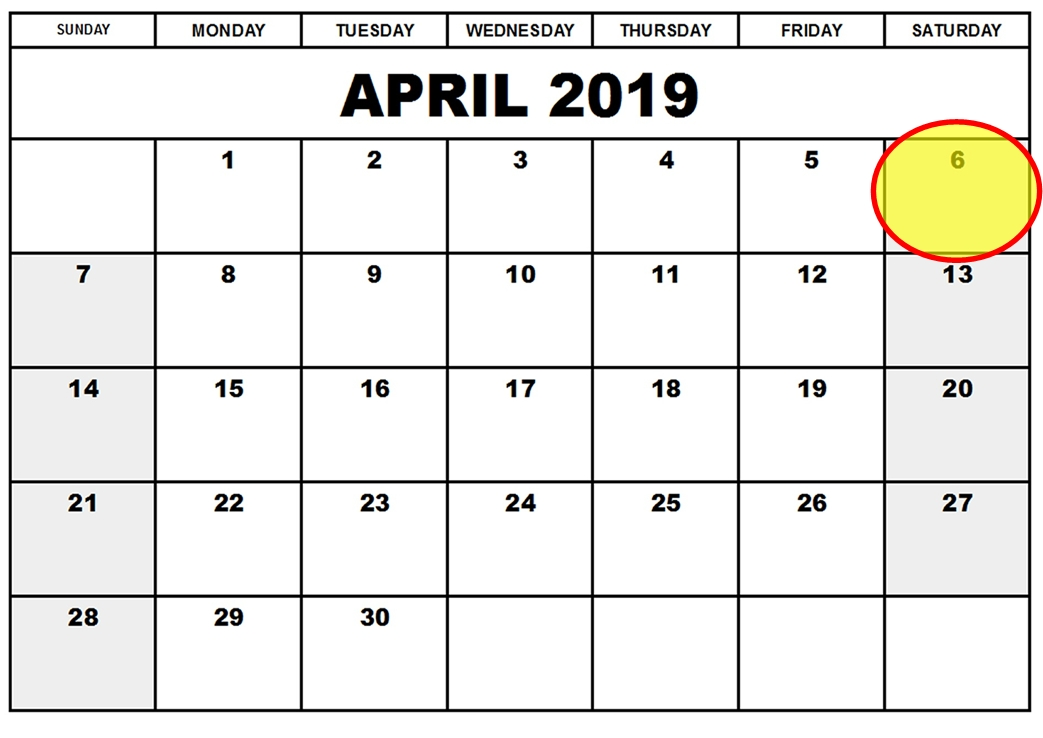 GPS Week Number Rollover Event - April 6th 2019